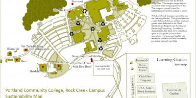 Mapa PCC rock creek